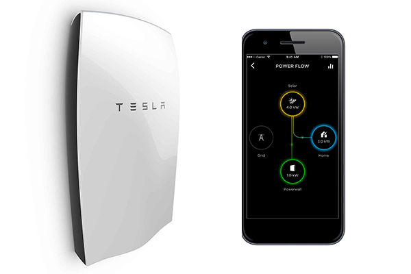 remote control Tesla