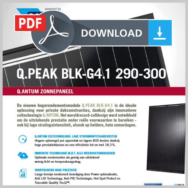Gegevensblad Q.PEAK BLK-G4.1