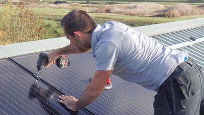 1e Elektromonteur zonnepanelen